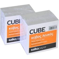 Κύβος Σημειώσεων Λευκός 9Χ9εκ. 700 Φύλλα Salko